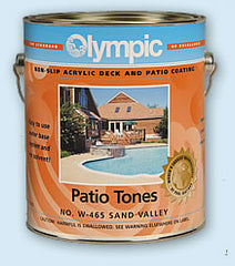 Captivating Olympic Patio Tones Patio And Deck Paint   Non Slip Coating U2013 Pool Supplies  24/7