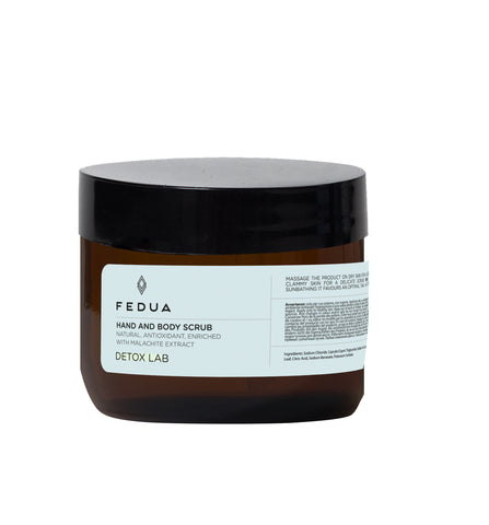 Fedua Hand and Body Scrub Detox Lab Cкраб для рук и тела Детокс