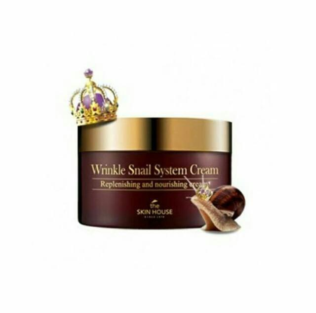 The Skin House Wrinkle Snail System Creme