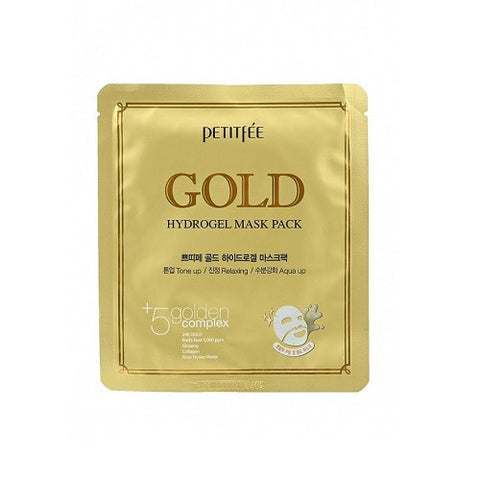PETITFEE Gold Hydrogel Mask Pack гидрогелевая маска