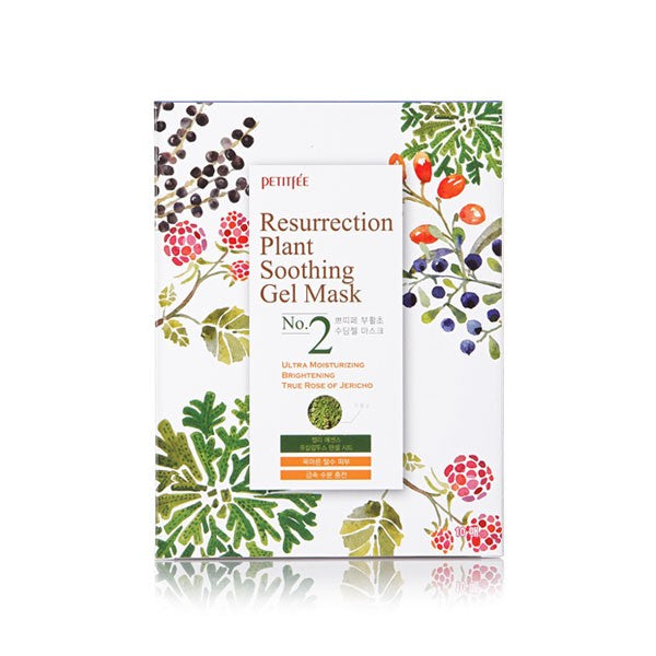 Ressurection Plant Soothing Gel Mask Тканевая гель-маска  успокаивающая и восстанавливающая с растительными экстрактами