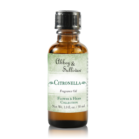 Fragrance Oil, Citronella | Abbey & Sullivan