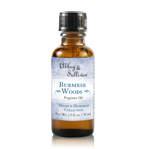 Fragrance Oil, Burmese Woods | Abbey & Sullivan