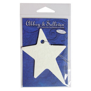 Unscented Air Freshener Paper Shapes | Abbey & Sullivan