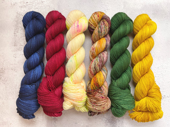 Harry Potter Blanket Club Border Colourways | Dyed to Order (ships from 26 April)