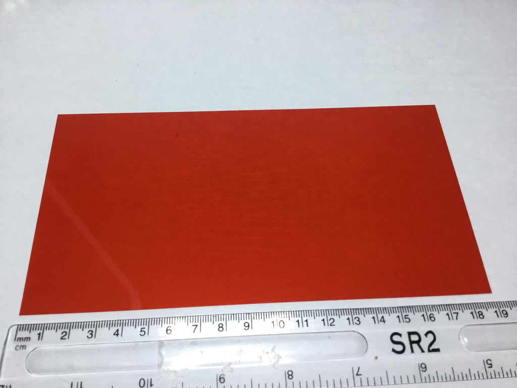 Red Acetate sheet A5