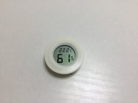 Humidity & Temperature Detector with free battery!
