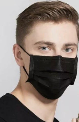 10 Disposable / Surgical Flu and Anti - Virus Face Masks
