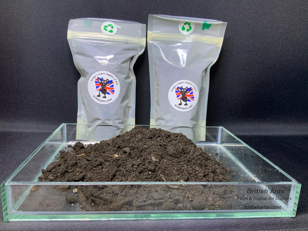 300ml of sterilised chemical free loam based soil