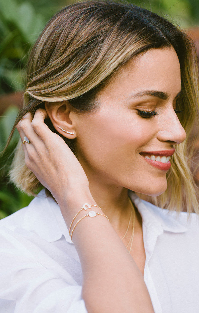 19680ece56098 Astro Climber Earrings Rose Gold