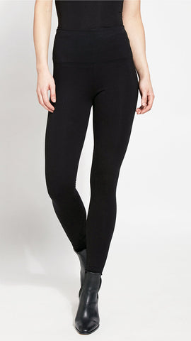 Black Ponte Centre-seam Lysse Leggings