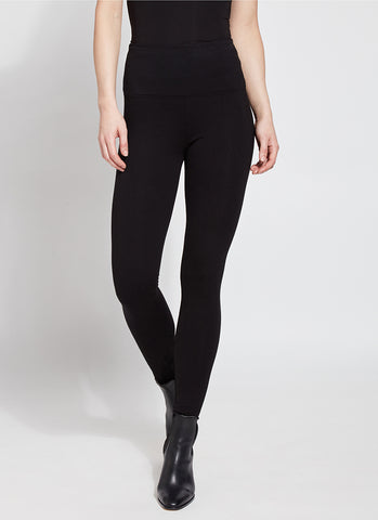 Black Ponte Centre-seam Lysse Leggings - new! lower price