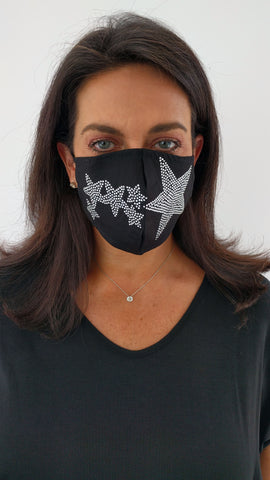 Bling Fashion Masks (Stars) - Limited!