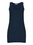 Essential Tank Vest Top in Navy