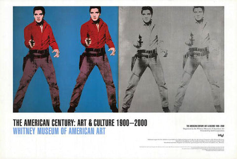 Andy Warhol - Elvis I & II for The American Century Exhibition Whitney Museum 2000