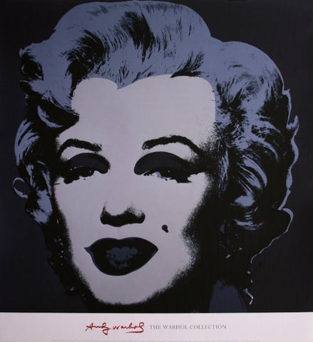 Andy Warhol - Marilyn Black Warhol Collection Original Lithograph 2000s