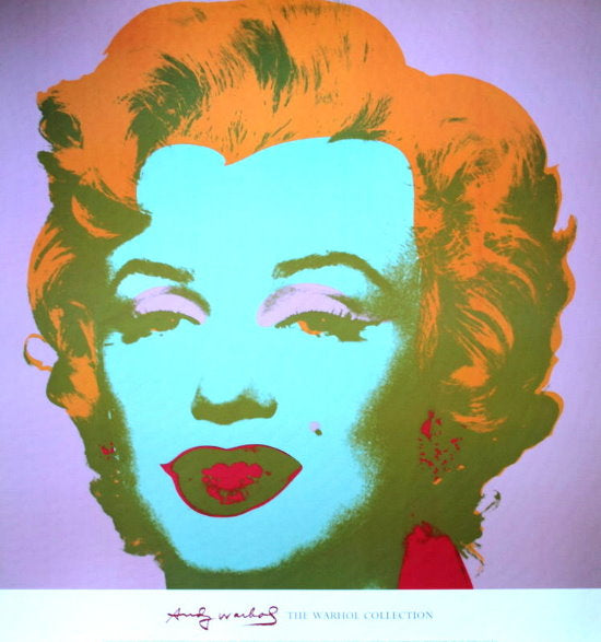 Andy Warhol - Marilyn Pale Pink Warhol Collection Original Lithograph 2000s