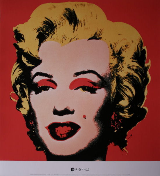 Andy Warhol - Marilyn Red Warhol Collection Original Lithograph 2000s