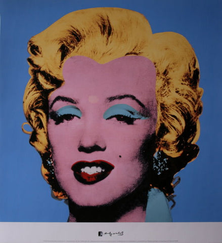 Andy Warhol - Marilyn Blue Warhol Collection Original Lithograph 2000s