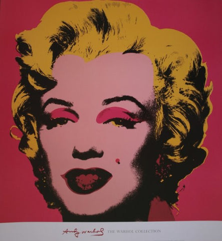 Andy Warhol - Marilyn Hot Pink Warhol Collection Original Lithograph 2000s