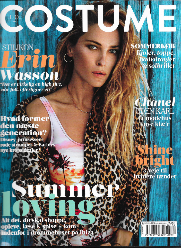 Monica Hansen Beachwear shown in Denmark's Costume Magazine