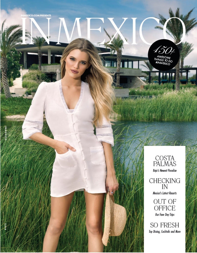 Monica Hansen Beachwear Featured in InMexico Magazine