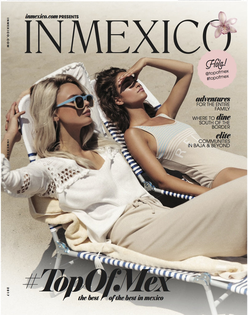 "We are so excited about our new ad in ""InMexico"" magazine"