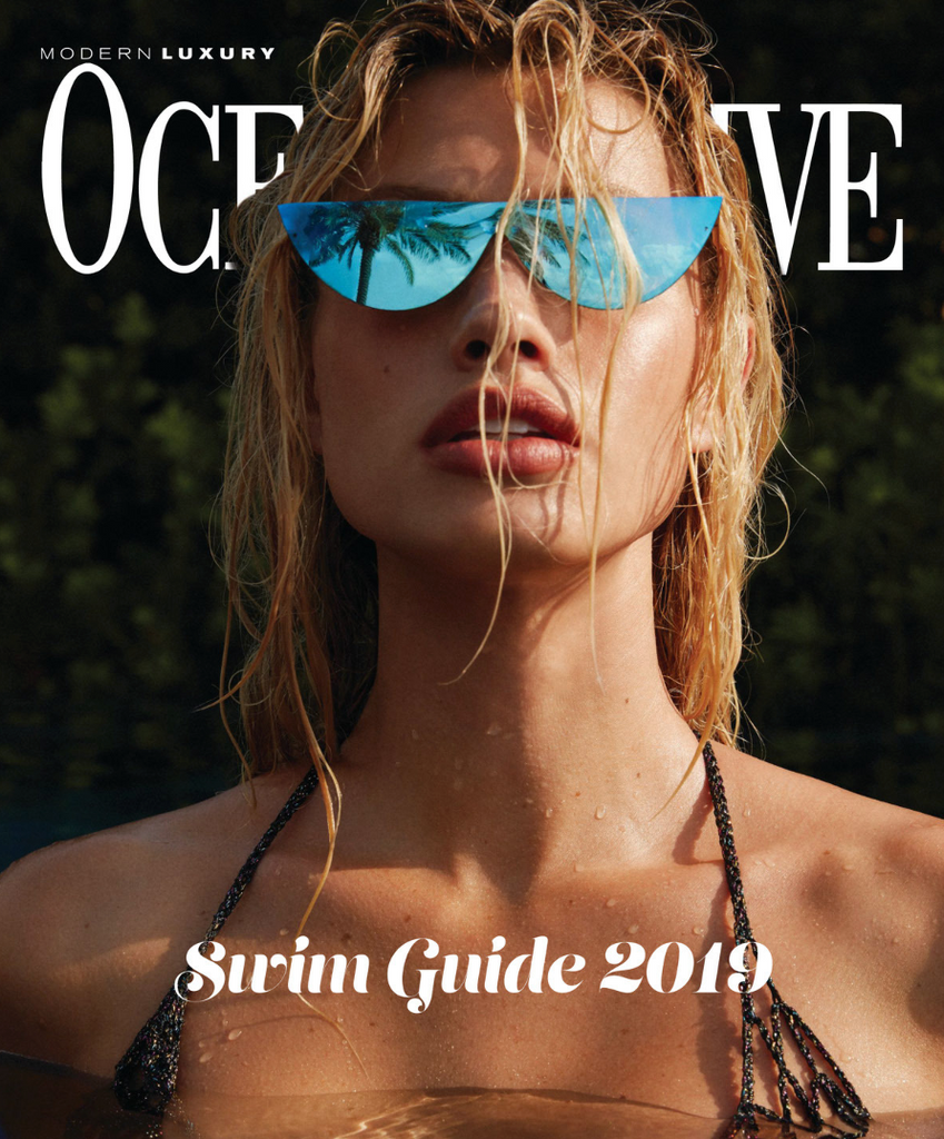 Monica Hansen Beachwear Featured in Ocean Drive