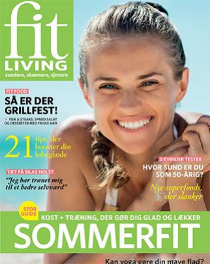 Monica Hansen Beachwear in Fitliving Denmark''s July 2016 Issue