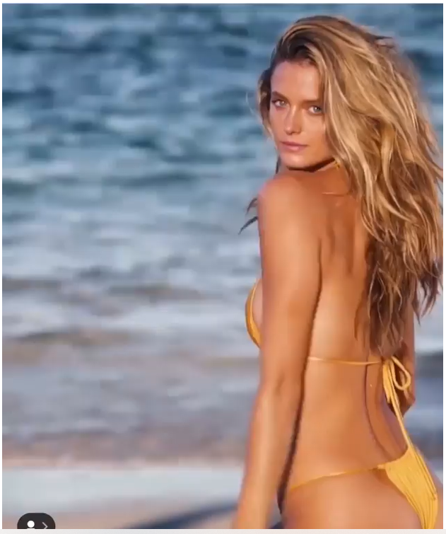 Sports Illustrated video of Kate Bock in Monica Hansen Beachwear