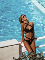 Endless Summer Wrap Around Bikini Bottom - - High Fashion Swimsuit Bottoms | Monica Hansen Beachwear