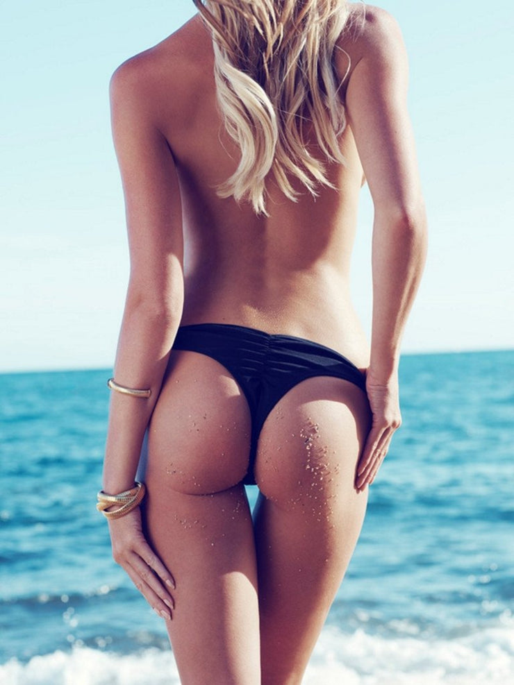 Forever Pearls Jeweled Bottom-Monica Hansen Beachwear