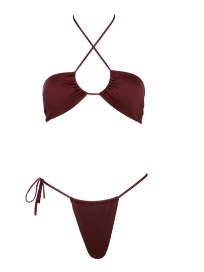 Bond Girl Halter Top-Monica Hansen Beachwear