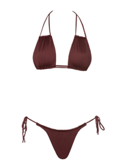 Miami Vice High Cut String Bottom-Monica Hansen Beachwear