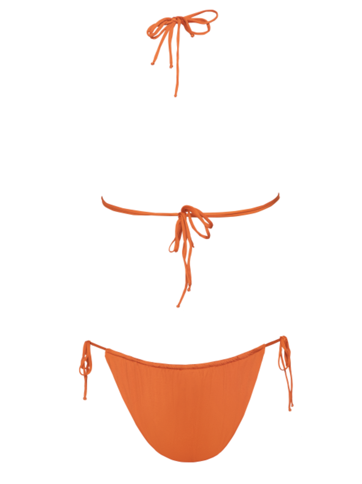 Miami Vice High Cut String Bikini Bottom - - High End Two-piece Bottoms | Monica Hansen Beachwear