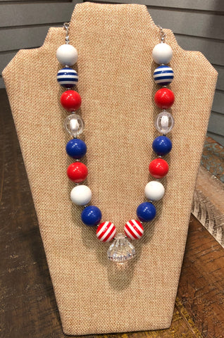 Chunky  Bubblegum Necklace -Accessory