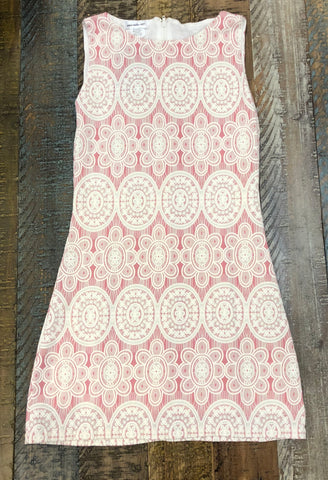 Area Code 407 Pink/Ivory Dress