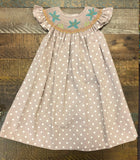 Rosalina Sea Star Polka Dot Dress