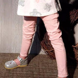 MAE-LI ROSE Distressed Skinny Jeans Pink