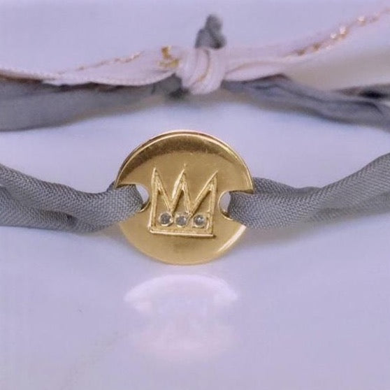 PRINCE DIAMOND BRACELET GOLD