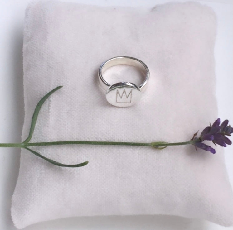 PRINCE RING SILVER