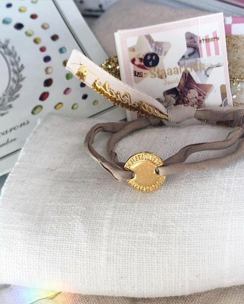 COOKIE BRACELET GOLD - Staaarkids
