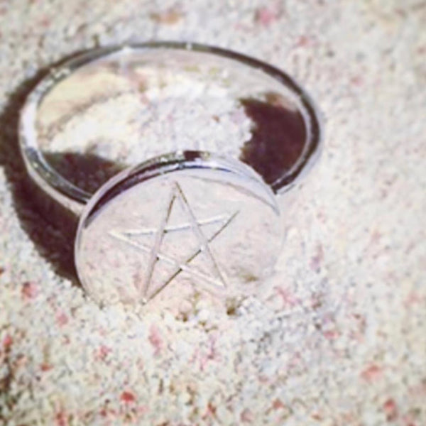 STAR RING SILVER - Staaarkids