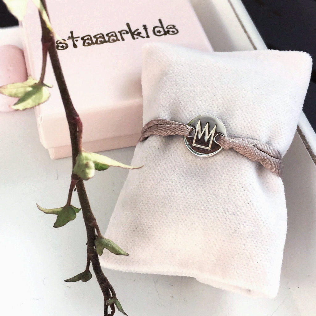 "Armband ""Prinsessan"" Silver - Staaarkids"
