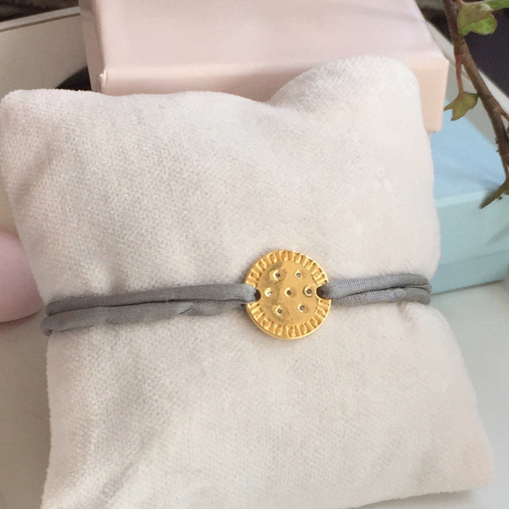 COOKIE DIAMOND BRACELET GOLD / eng - Staaarkids