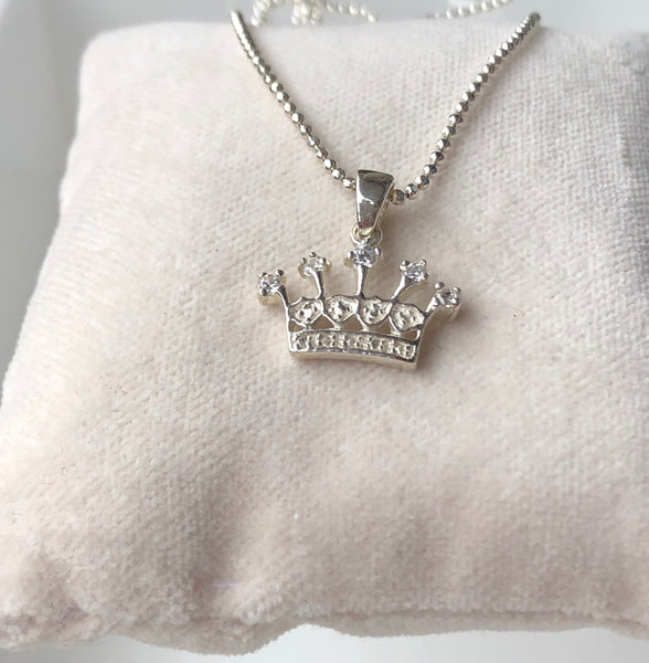 QUEEN NECKLACE SILVER - Staaarkids
