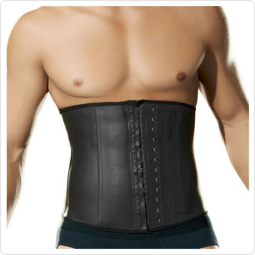 df9771806a5 Mens Latex Waist Trainer - Workout Back Support – Sh8pewear