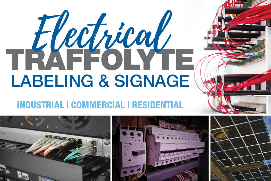Electrical Traffolyte Labelling & Signage Engraving Supplies