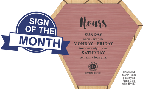 Rowmark Newsletter Issue7 Sign of the month