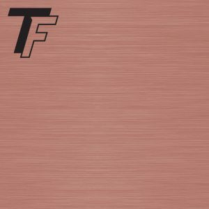 "TROPHYFLEX ROSE GOLD/BLACK .015"" FLEXIBLE  (12"" X 24"")"